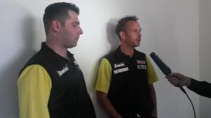 Die deutschen Starter: Jyhan Artut und Andree Welge