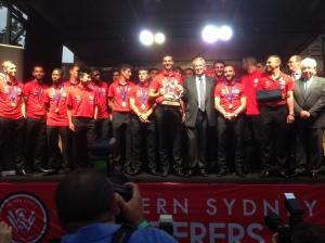 """Die """"Champions of Asia"""" feiern ihren Titel"""